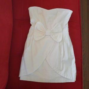Zara Strapless Dress with Bow